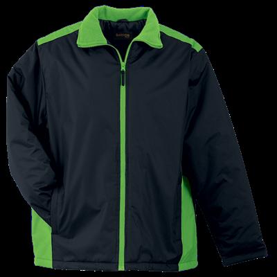 Mens Capri Jacket  Black/Lime Size 5XL
