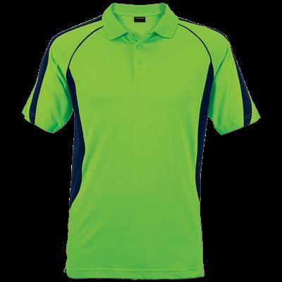 Mens Maxima Golfer  Lime/Navy Size Medium