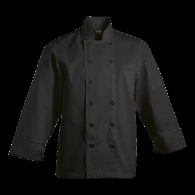 Mens Savona Long Sleeve Chef Jacket  Black Size XL