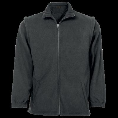 Mens Ultra Micro Fleece  Grey Size Large