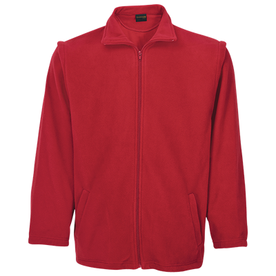 Mens Ultra Micro Fleece  Red Size Small