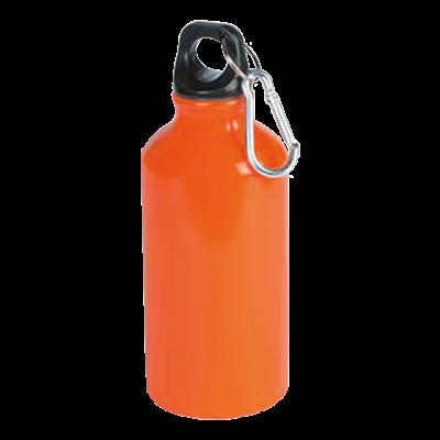 Mento 400ml Water Bottle Orange
