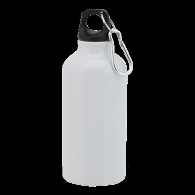 Mento 400ml Water Bottle White