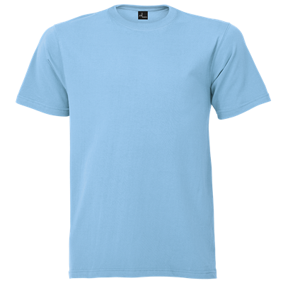 Promo Tee 145g Blue Size Small