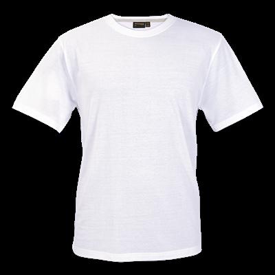 Barron Enviro Crew Neck T-Shirt White Size Small