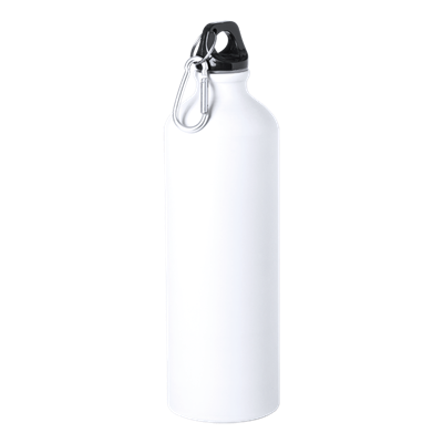 Delby 800ml Water Bottle White