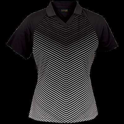 Ladies Apollo Golfer  Black/Silver Size XS