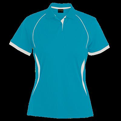 Ladies Derby Golfer  Sapphire/White Size 3XL