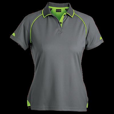 Ladies Felton Golfer  Grey/Lime Size Small