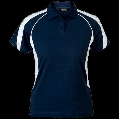 Ladies Maxima Golfer  Navy/White Size Medium