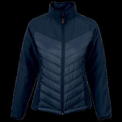 Ladies Melbourne Jacket  Navy Size Medium