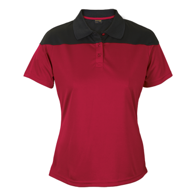 Ladies Omega Golfer  Red/Black Size 3XL