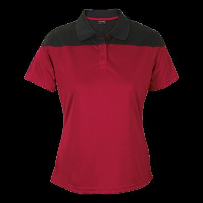 Ladies Omega Golfer  Red/Black Size XL