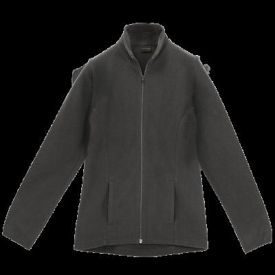 Ladies Ultra Micro Fleece  Grey Size 3XL
