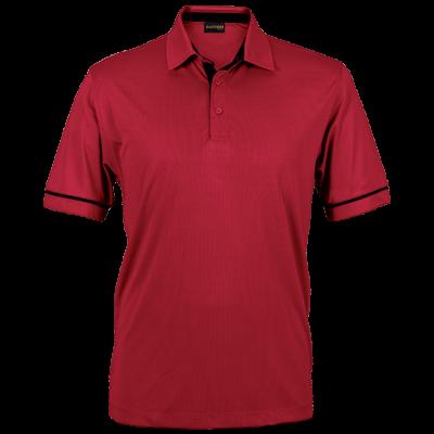 Mens United Golfer Red/Black Size Large