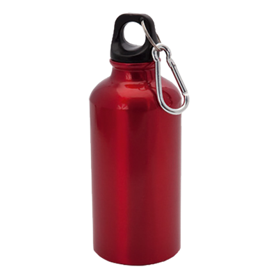 Mento 400ml Water Bottle Red