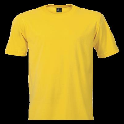 Promo Tee 165g Yellow Size XL
