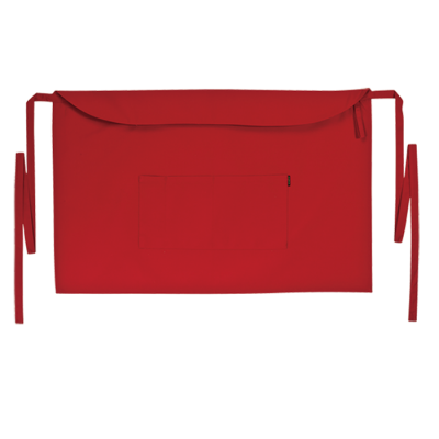 Bistro Apron Red