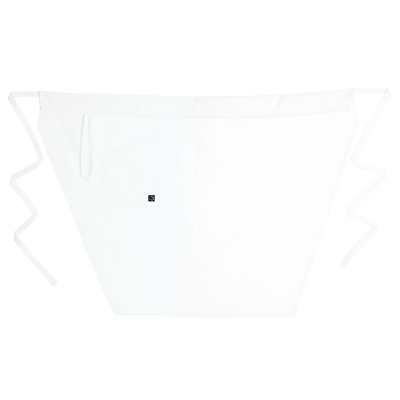 Tapered Apron White