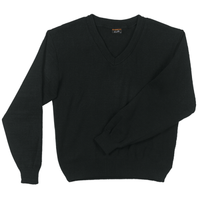 Mens Basic Jersey Long Sleeve Black Size 2XL