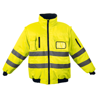 Barricade Jacket Safety Yellow Size Small