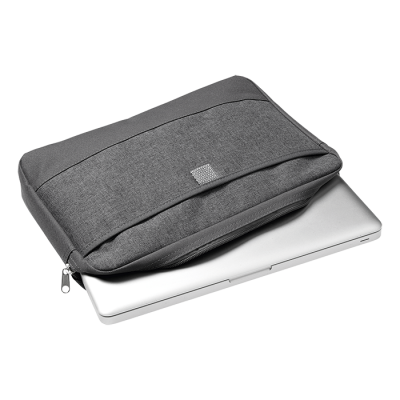 Melange Poly Canvas Tablet Case Grey