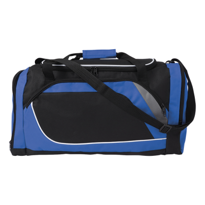Sports Bag with Shoe Compartment Cobalt