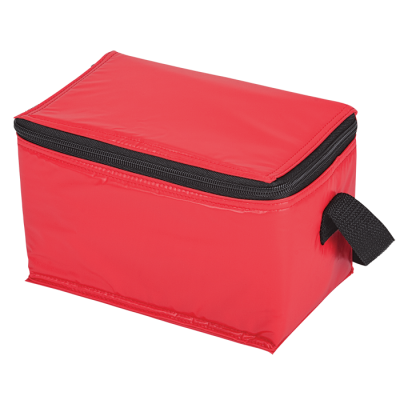 6 Can Cooler - Vinyl Red