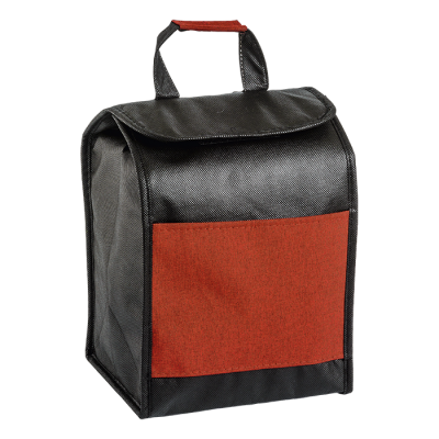 Lunch Sack Cooler Red Melange