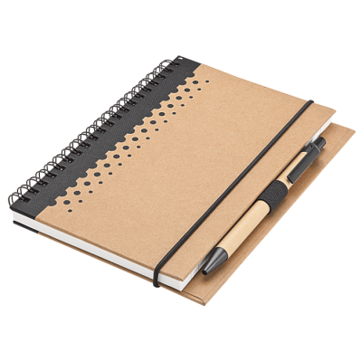 Recycled Junior Pad And Pen Black