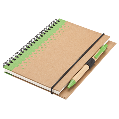 Recycled Junior Pad And Pen Green