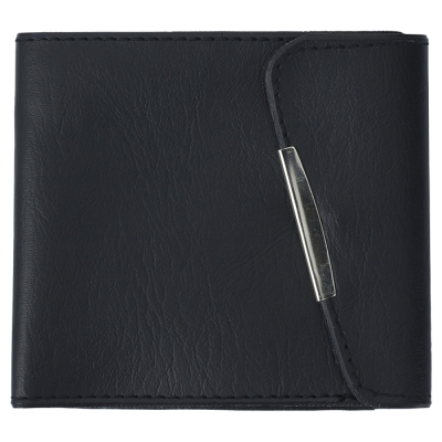 PVC Pinch Wallet Black