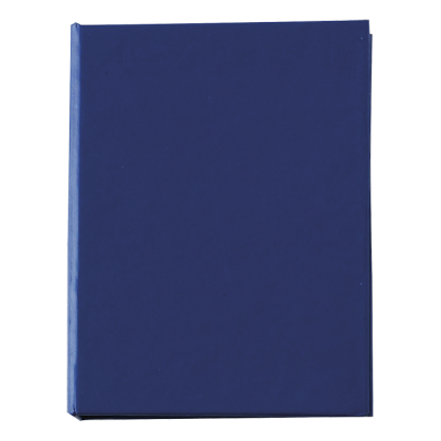 Card Case with Sticky Notes Blue
