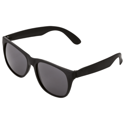 Sunglasses With Fluorescent Sides Black