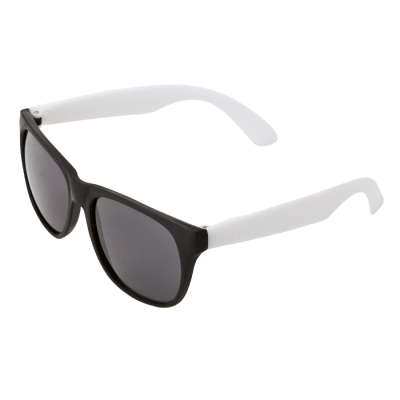 Sunglasses With Fluorescent Sides White