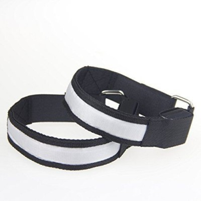 Safety Flashing Arm Band Black