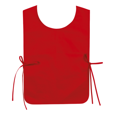Non Woven Bib Size Adult Red