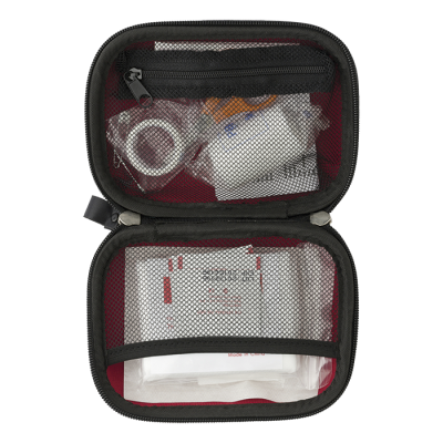 16 Piece First Aid Kit In Eva Case Red