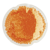 Round Shaped Hot and Cold Pack Orange