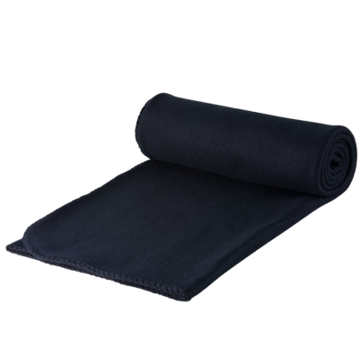 Polar Fleece Blanket Black