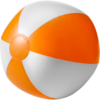Two Tone Inflatable Beach Ball Orange