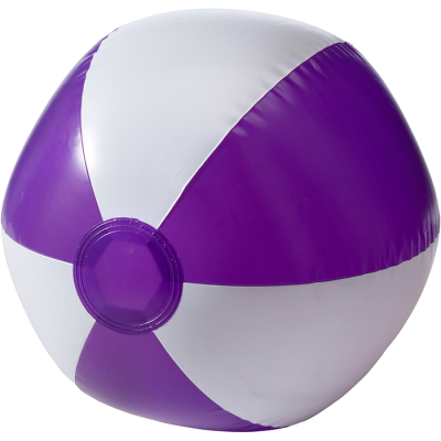 Two Tone Inflatable Beach Ball Purple
