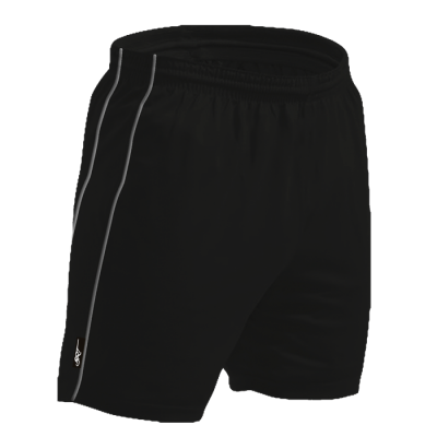 BRT Reflect Shorts Black Size Medium