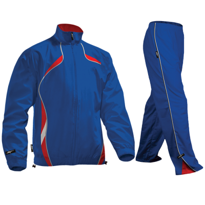 BRT Reflect Tracksuit Royal/Red Size Small