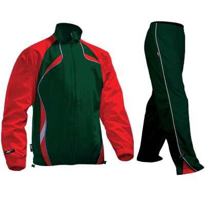 BRT Reflect Tracksuit Bottle/Red Size Large