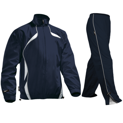BRT Reflect Tracksuit Navy/White Size 9 to 10