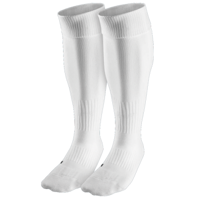 BRT Team Sock White Size 6-8