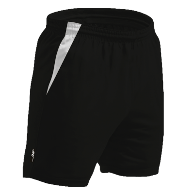BRT Quad Shorts Black/White Size Medium