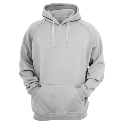 BRT Performance Hoodie Silver Size Large