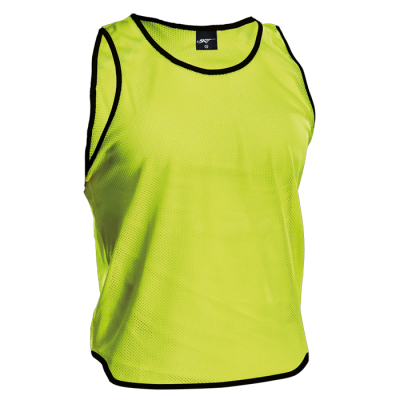 BRT League Vest Hi-Vis Yellow Size Jnr